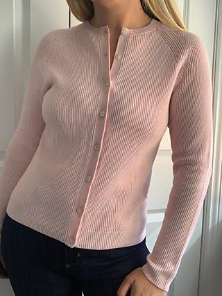 John Lewis & Partners Multi Rib Stitch Cardigan