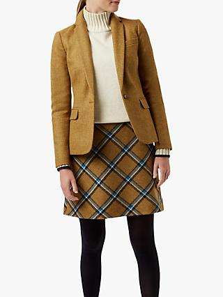 Hobbs Blake Tailored Wool Jacket, Bamboo