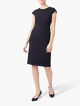 Hobbs Leila Dress, Navy