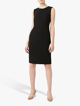 Hobbs Petite Alva Dress, Black