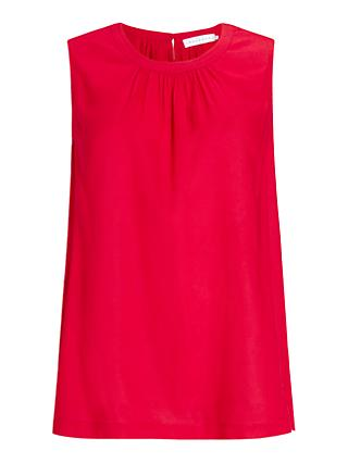 Collection WEEKEND by John Lewis Sleeveless Modal Vest, Red