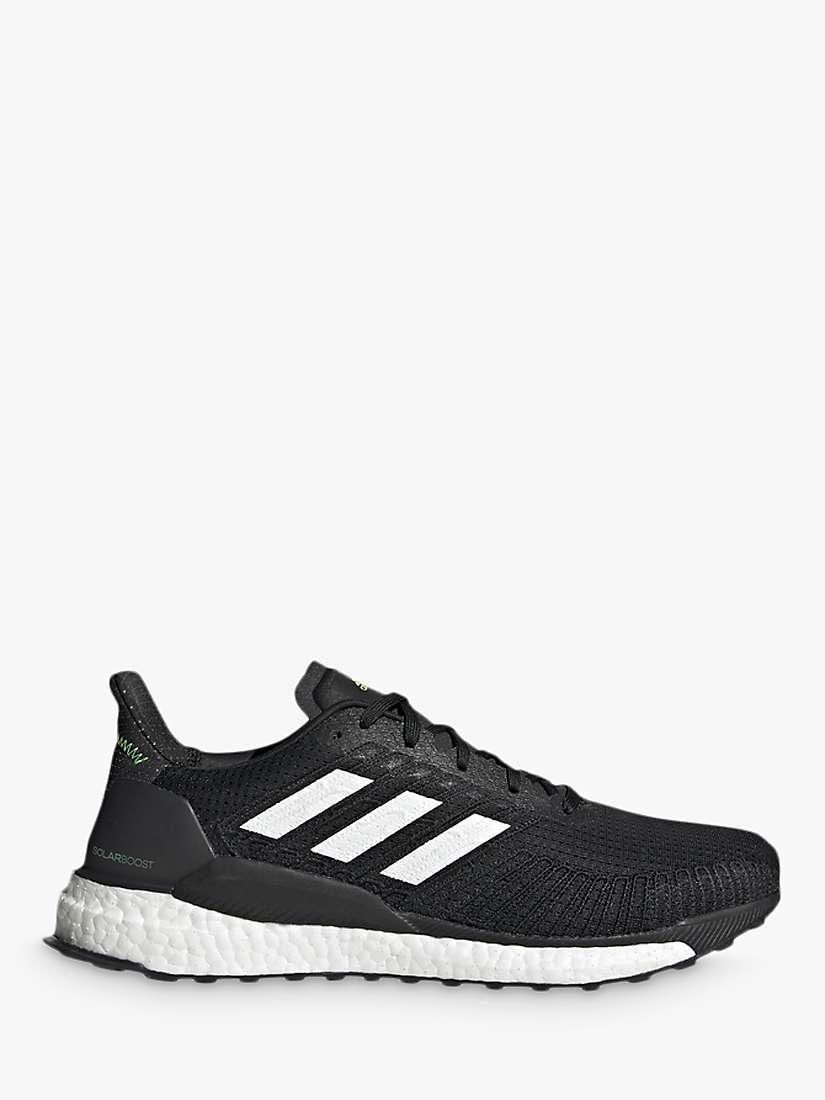 grueso Glosario Rechazado  adidas Solar Boost 19 Men's Running Shoes, Core Black/Cloud White/Signal  Gree at John Lewis & Partners
