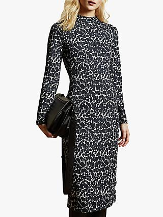 Ted Baker Liniee Dress, Black/White