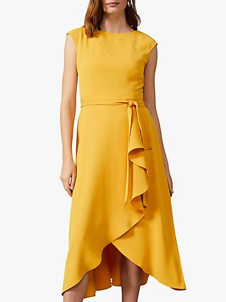 Phase Eight Rushelle Dress, Canary Yellow