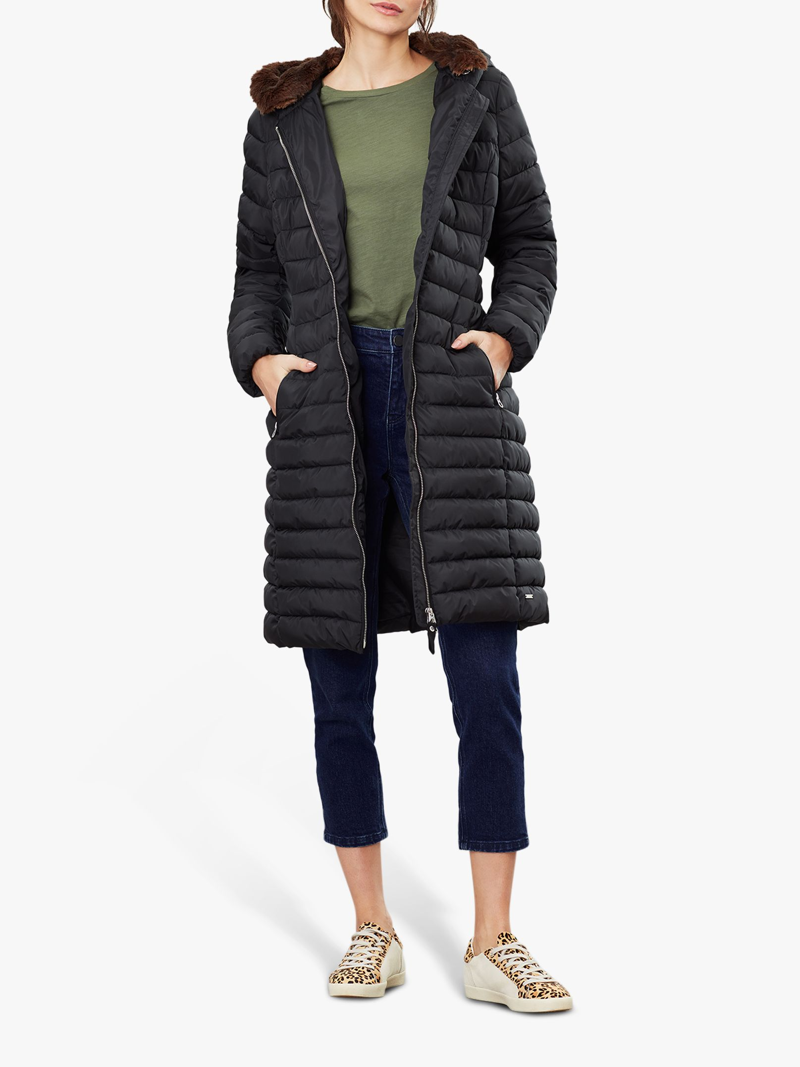 Joules Joules Maristow Snuggle Hood Padded Coat