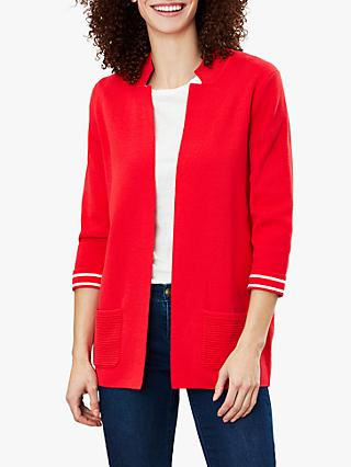 Joules Rana Internal Stripe Knit Cardigan