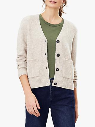 Joules Laura V-Neck Patch Pocket Cardigan
