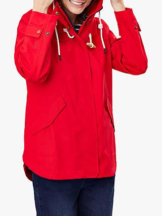 Joules Coast Waterproof Coat, Red