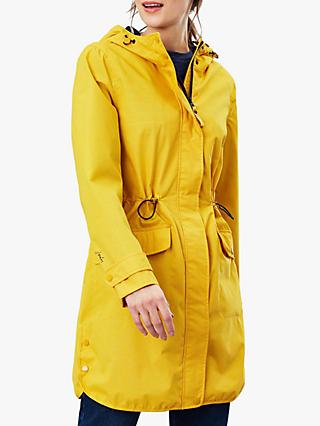 Joules Barrowden Waterproof Coat, Antique Gold