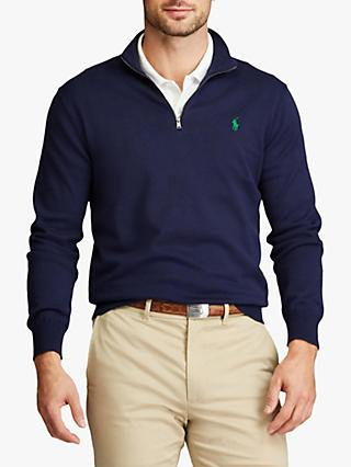 Polo Golf Ralph Lauren Pima Cotton Half Zip Sweatshirt