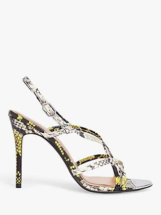 Ted Baker Theanaa Leather Strappy Sandals