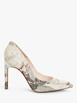 Ted Baker Melnima Stiletto Heel Court Shoes, Light Pink
