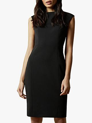 Ted Baker Pelagai Boat Neck Midi Dress, Black