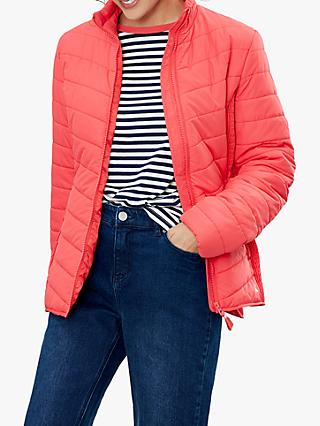 Joules Harrogate Padded Jacket, Poppy