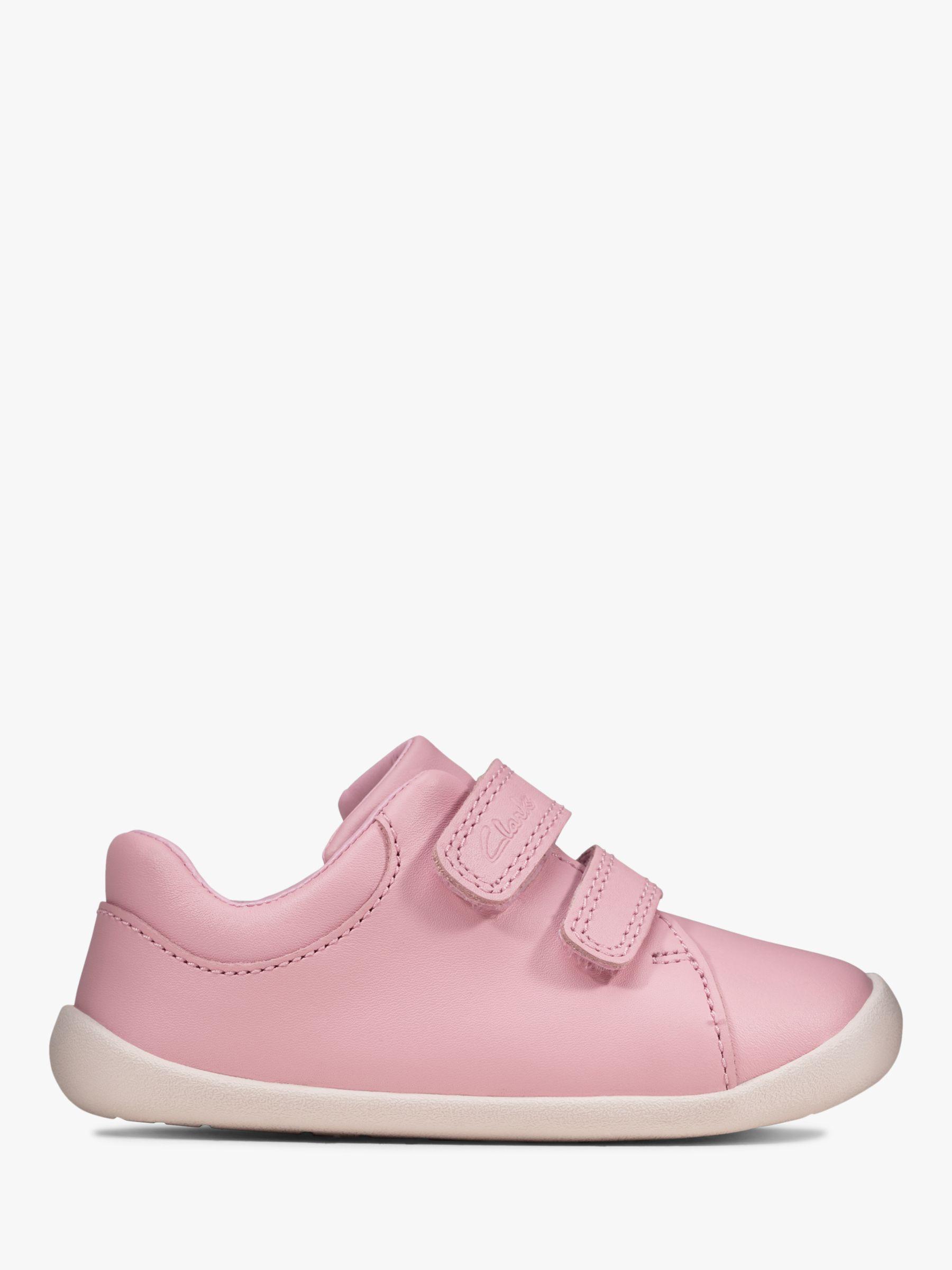 Clarks Children's Roamer Craft Pre-Walker Shoes, Pink at ...