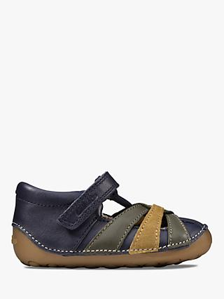 Geox Junior Flexyper Boys Sandals 35 M EU// 3.5 M US Big Kid Navy//Lime
