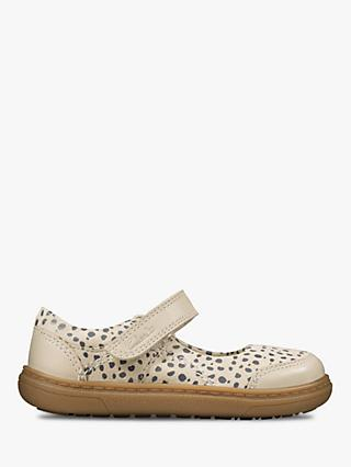 Clarks Junior Flash Bright Riptape Shoes