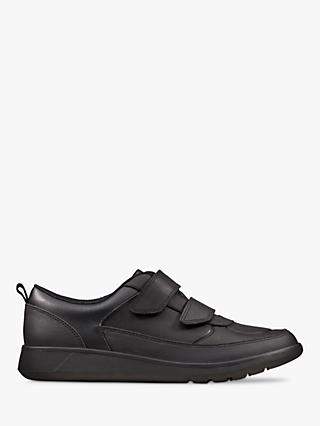 Clarks Children's Scape Flare School Shoes, Black