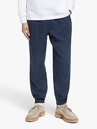 Garbstore Japanese Cotton Dyed Home Party Pant Chinos, Navy