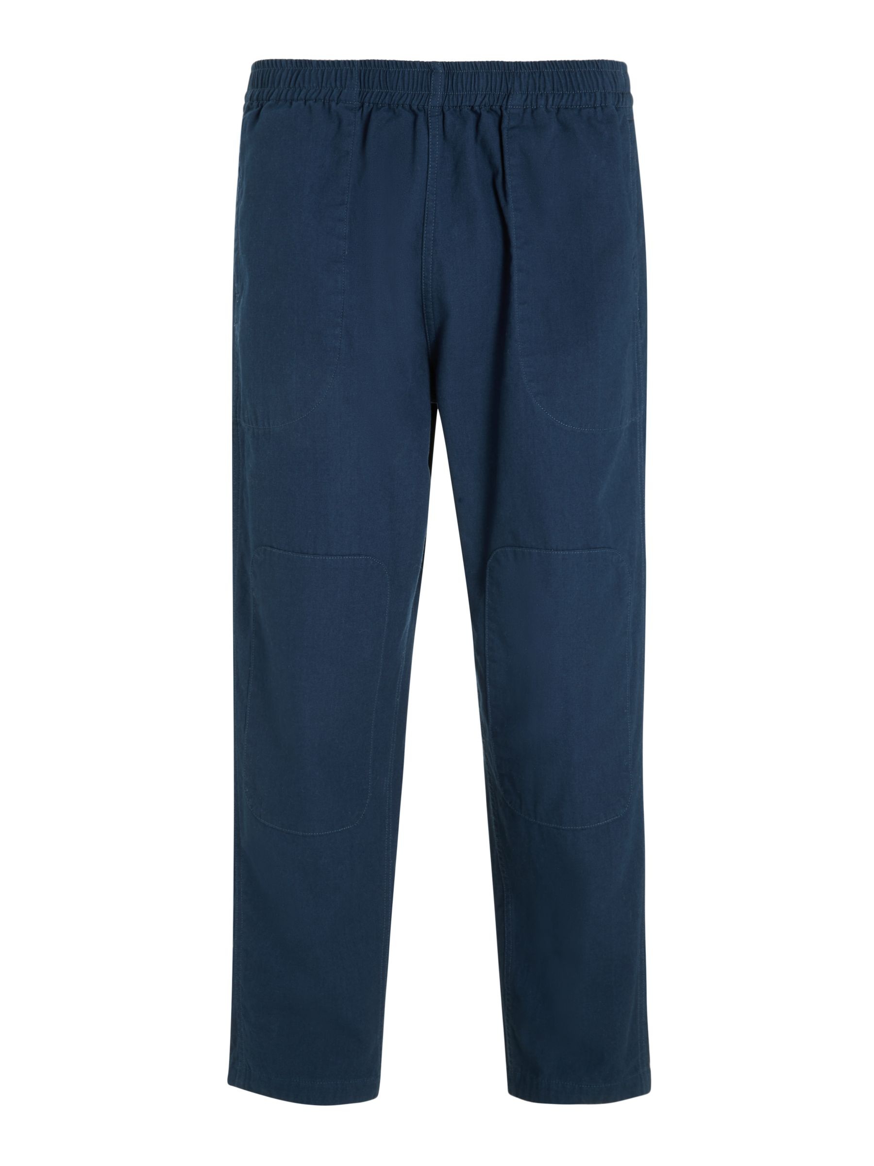 Buy Garbstore Japanese Cotton Dyed Home Party Pant Chinos, Navy, S Online at johnlewis.com