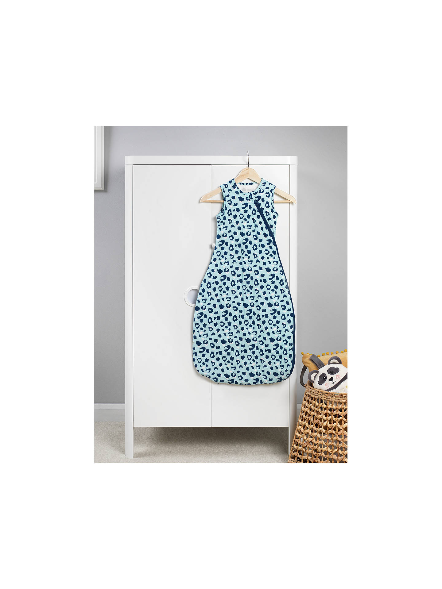 Buy Tommee Tippee The Original Grobag Animal Print Sleep Bag, 2.5 Tog, Blue, 6-18 months Online at johnlewis.com