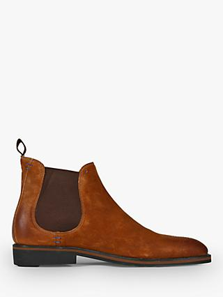 Oliver Sweeney Burrows Leather Chelsea Boots, Whiskey
