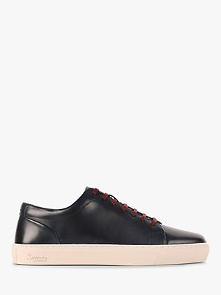 Oliver Sweeney Hayle Leather Trainers, Navy