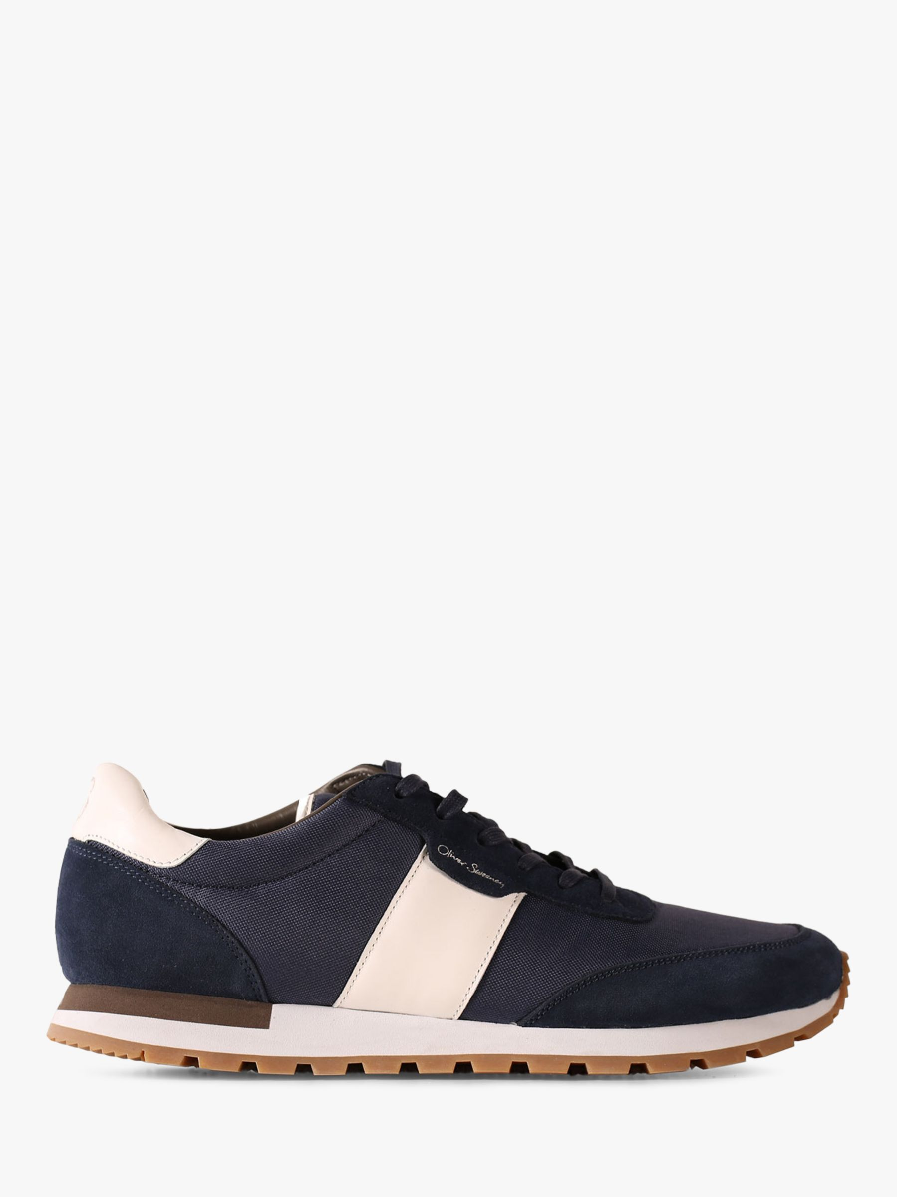 Oliver Sweeney Oliver Sweeney Shurton Suede Trainers, Navy