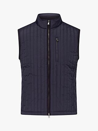 Hackett London Channel Gilet, Navy