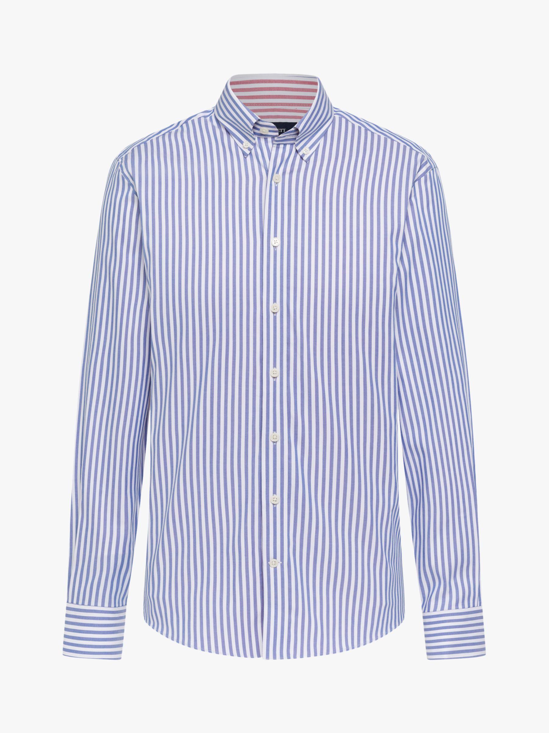 Hackett London Hackett London Double Sided Striped Butcher Shirt