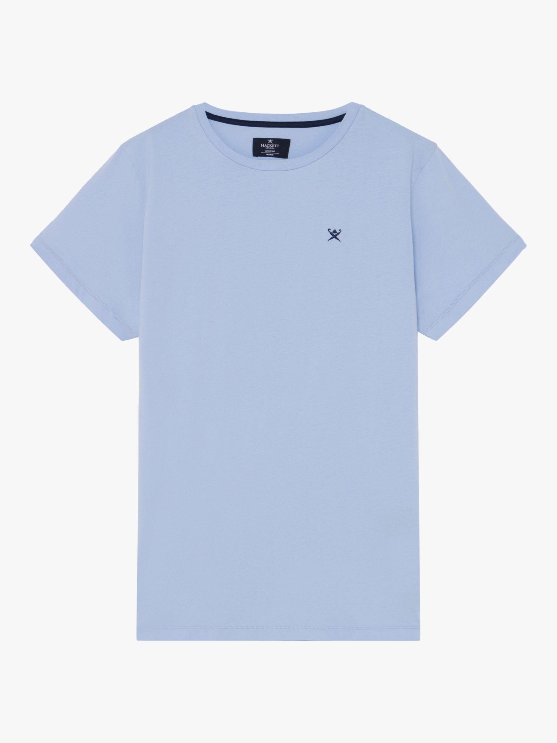 Hackett London Hackett London Logo T-Shirt, Chambray