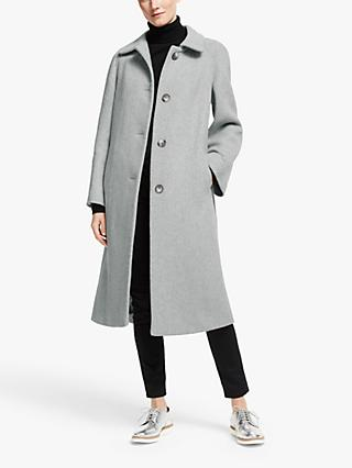 Modern Rarity Swing Coat, Grey