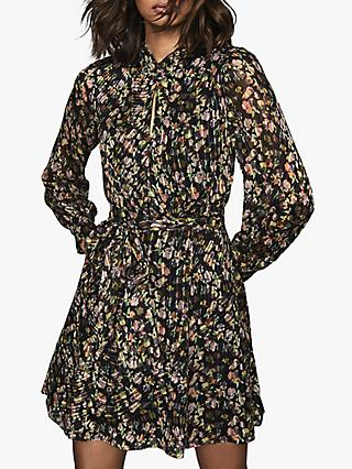 Reiss Phiilippa Floral Mini Dress