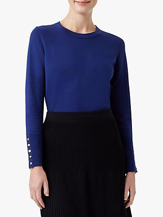 Hobbs Paula Long Sleeve Button Cuff Sweater