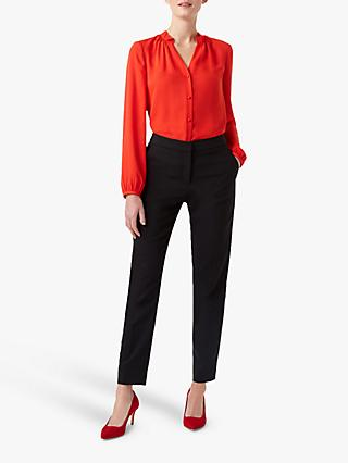 Hobbs Gabi Blouse, Red