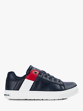 Tommy Hilfiger Children's Signature Colour-Blocked Trainers