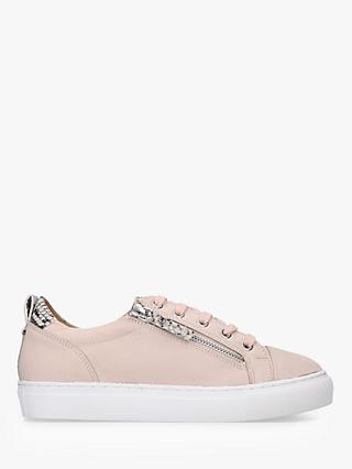 Carvela Logan Leather Lace Up Trainers