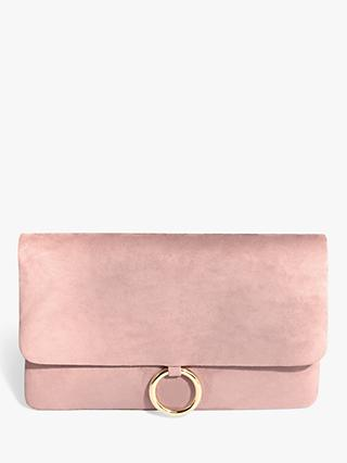 Phase Eight Giselle Suede Clutch Bag