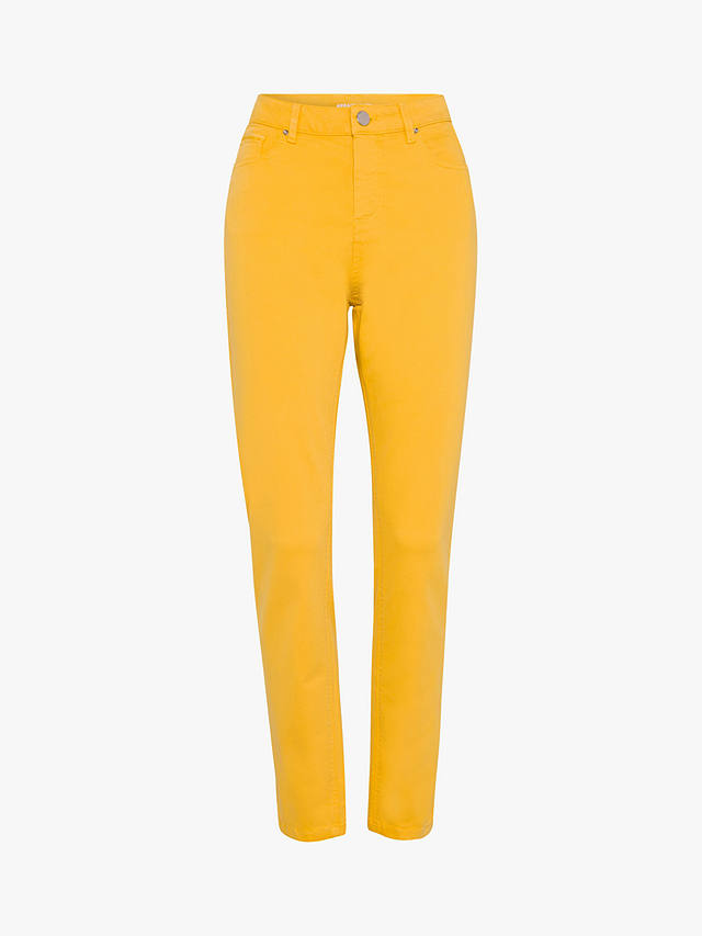 Buy Gerard Darel Myriam Skinny Jeans, Yellow, 10 Online at johnlewis.com