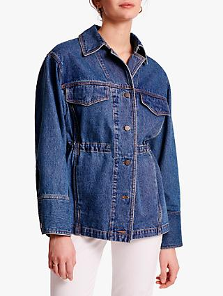 Gerard Darel Ambre Denim Jacket, Blue