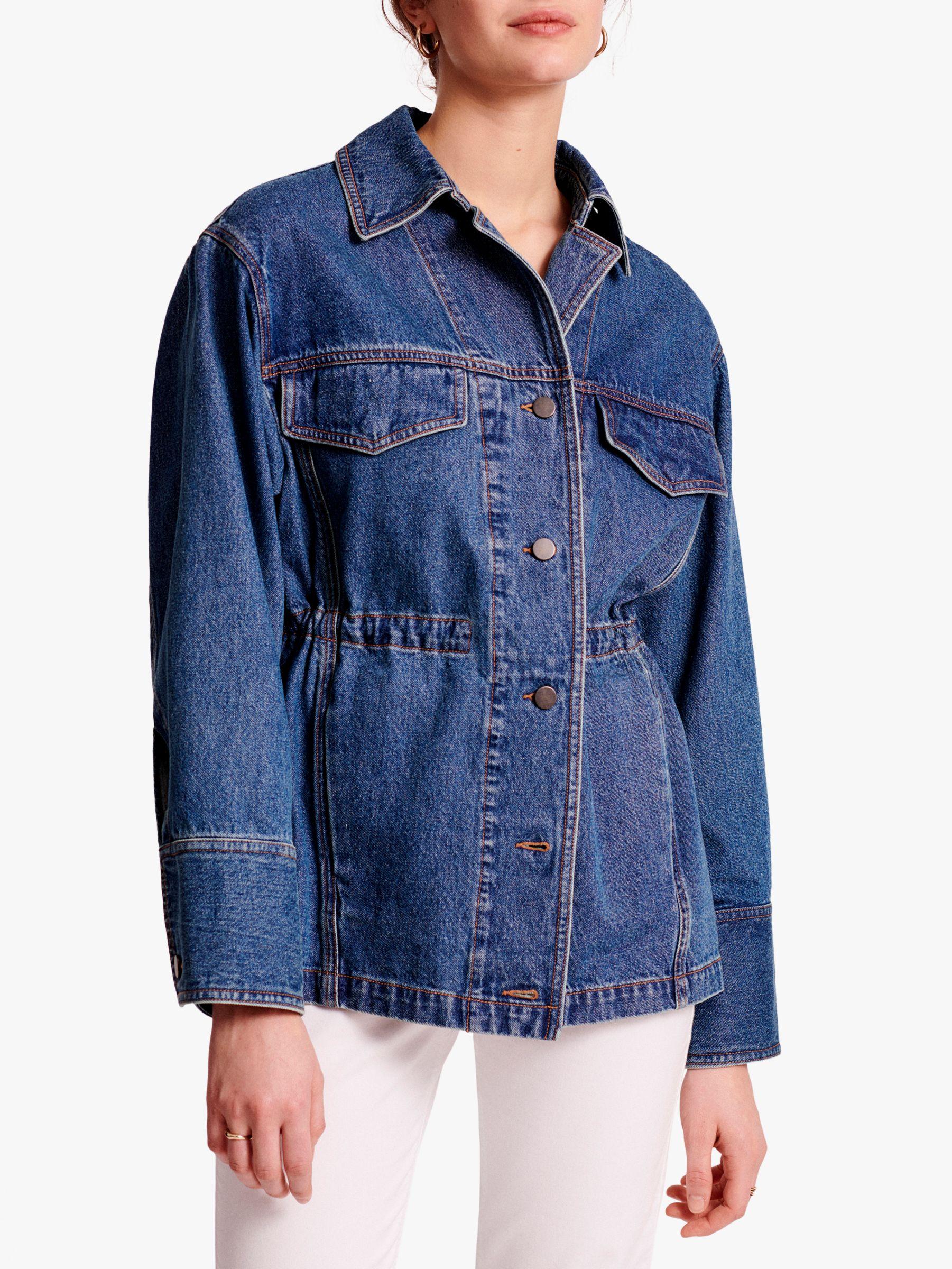 Gerard Darel Gerard Darel Ambre Denim Jacket, Blue