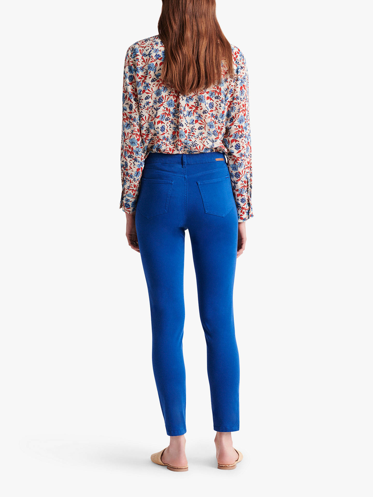 Buy Gerard Darel Myriam Skinny Jeans, Blue, 18 Online at johnlewis.com
