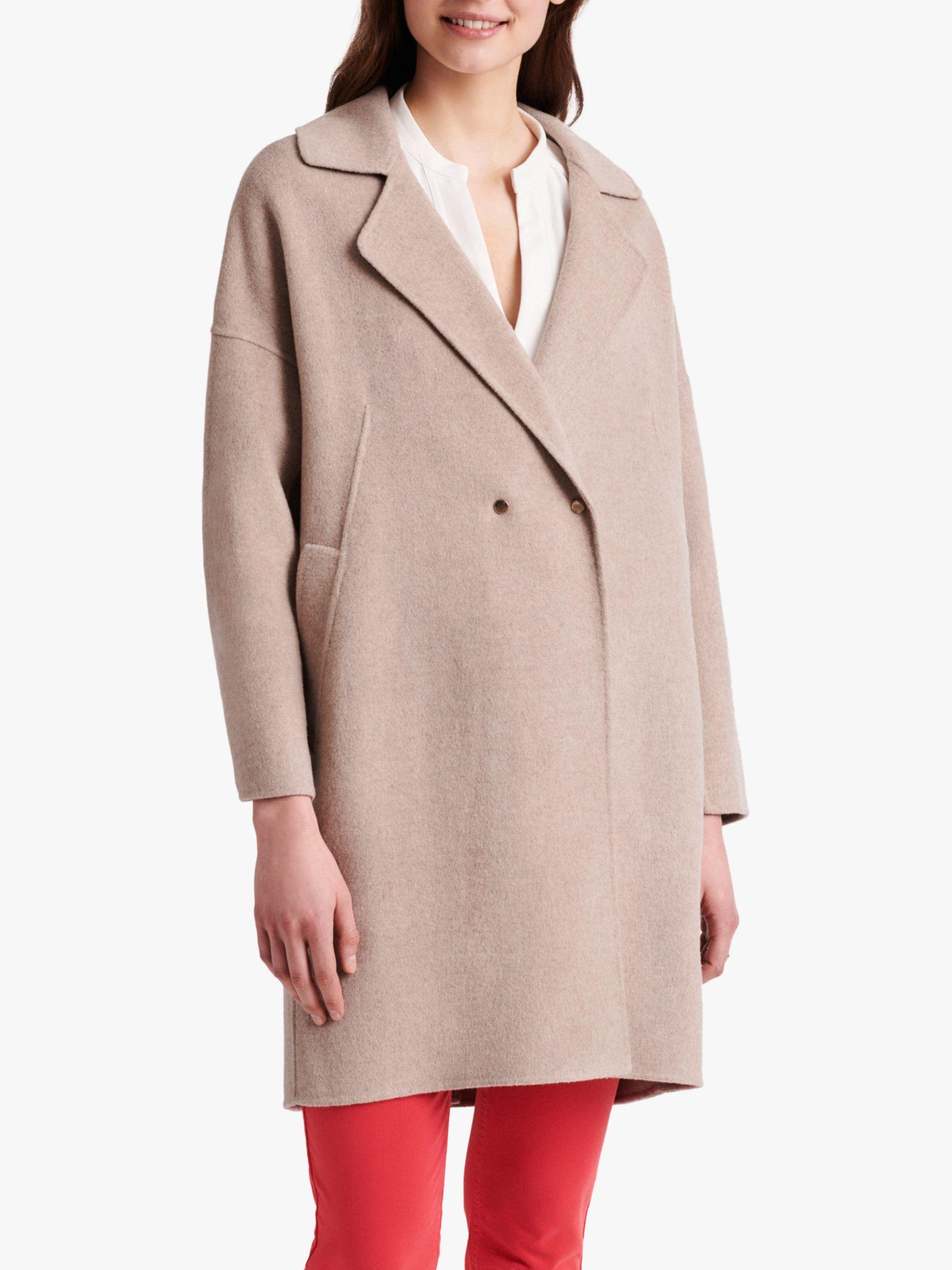 Gerard Darel Gerard Darel Rachel Longline Wool Coat, Beige