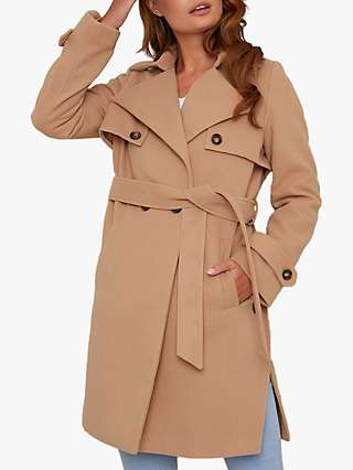 Chi Chi London Cleo Coat, Camel