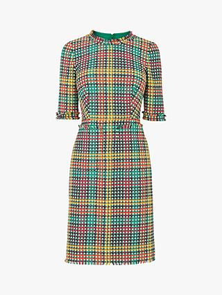 L.K.Bennett Bonnie Tweed Dress, Multi