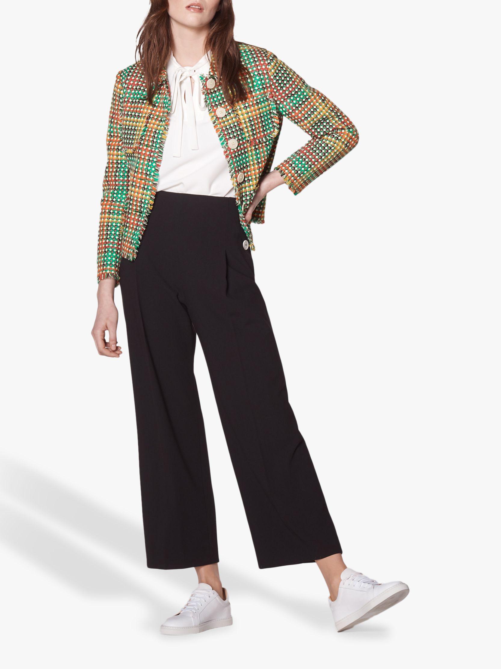 L.K.Bennett L.K.Bennett Bonnie Tweed Jacket, Multi