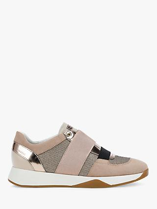 Geox Women's Suzzie Lace Up Trainers, Nude