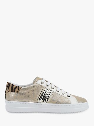 Geox Women's Pontoise Animal Print Trainers