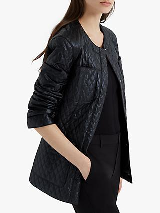 Club Monaco Quilted Jacket, Black