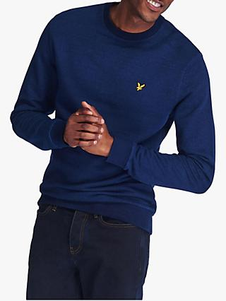 Lyle & Scott Crew Neck Sweatshirt, Indigo